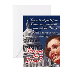 Nancy Pelosi Holiday Greeting Cards (Pk of 10)