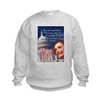 Nancy Pelosi Christmas Kids Sweatshirt
