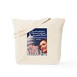 Nancy Pelosi Christmas Tote Bag