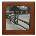 Country Farm Framed Tile