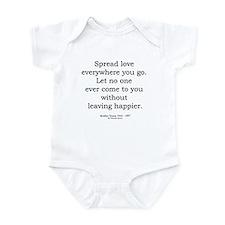 Mother Teresa 7 Infant Bodysuit