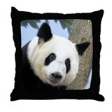 Panda Square Photo Throw Pillow