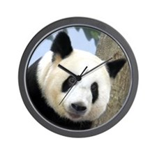 Panda Square Photo Wall Clock