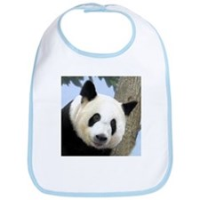 Panda Square Photo Bib