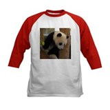 Panda Cub Square Photo Tee