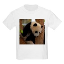 Panda Cub Square Photo Kids T-Shirt