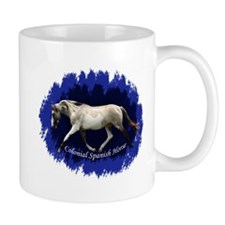 Blue Mulit-colored filly Mug