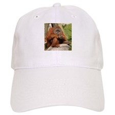 Orangutan Square Photo Baseball Cap