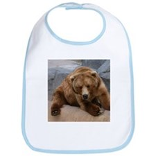 Alaskan Brown Bear Square Pho Bib