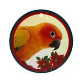 Sun Conure Ornament (Round)