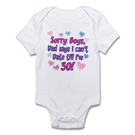Sorry Boys Infant Bodysuit