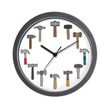 Hammer Time Wall Clock