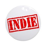 Indie Ornament (Round)
