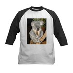 Koala Bear 3 Kids Baseball Jersey