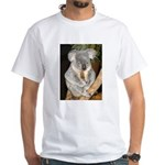 Koala Bear 3 White T-Shirt