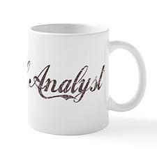 Vintage Financial Analyst Mug