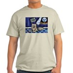 SILKY Terrier art items Ash Grey T-Shirt