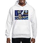 SILKY Terrier art items Hooded Sweatshirt