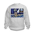 SILKY Terrier art items Kids Sweatshirt