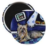 SILKY Terrier art items Magnet