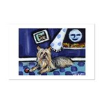 SILKY Terrier art items Mini Poster Print
