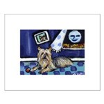 SILKY Terrier art items Small Poster