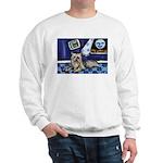 SILKY Terrier art items Sweatshirt