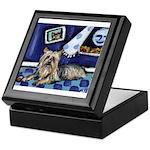 SILKY Terrier art items Keepsake Box