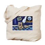 SILKY Terrier art items Tote Bag