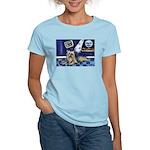 SILKY Terrier art items Women's Pink T-Shirt