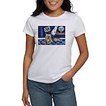 SILKY Terrier art items Women's T-Shirt