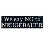 No to Randy Neugebauer bumper sticker