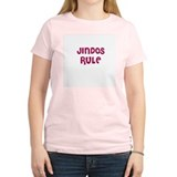 JINDOS RULE Women's Pink T-Shirt