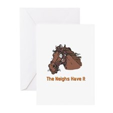 The Neighs Have It Greeting Cards (Pk of 20)