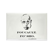 """Foucault, Fo' sho"" Rectangle Magnet"