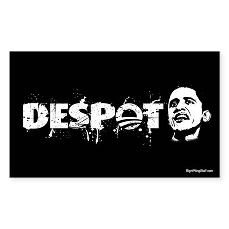 Despot Rectangle Sticker