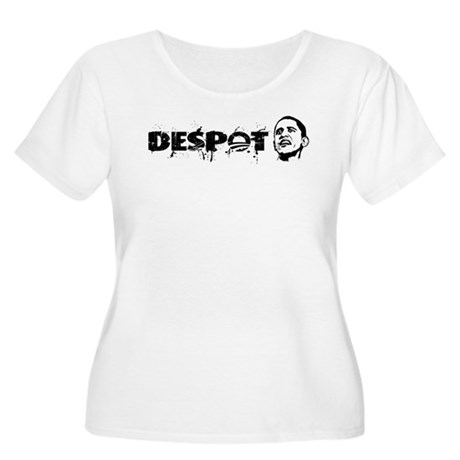 Despot Women's Plus Size Scoop Neck T-Shirt