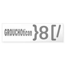 GROUCHOticon Bumper Sticker (10 pk)