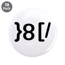 "GROUCHOticon 3.5"" Button (10 pack)"