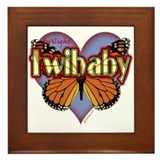 Twilight Twibaby Magic Butterfly Framed Tile