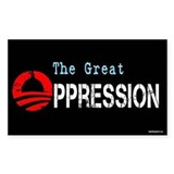 The Great Oppression Decal