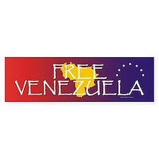 Free Venezuela Bumper Sticker