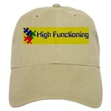 High Functioning Autistic Baseball Cap