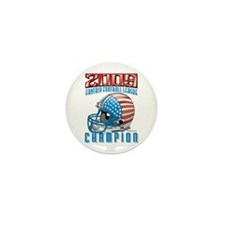 2009 Fantasy Football Helmet Mini Button (100 pack