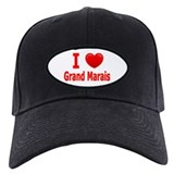I Love Grand Marais Baseball Hat