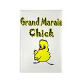 Grand Marais Chick Rectangle Magnet