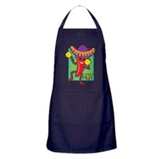 Mexican Chili Apron (dark)