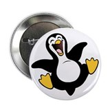 "Skuzzo Happy Penguin 2.25"" Button (10 pack)"