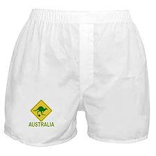 Australia soccer kangaroo Boxer Shorts