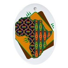 Funny Kwanzaa Oval Ornament